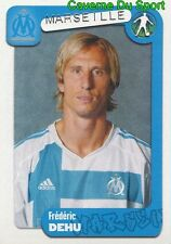188 DEHU FRANCE OLYMPIQUE MARSEILLE FC.BARCELONA STICKER FOOT 2005 PANINI