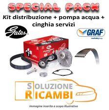 KIT CINGHIA DISTRIBUZIONE + POMPA ACQUA + SERVIZI FIAT PANDA '03-  1.2 44 KW