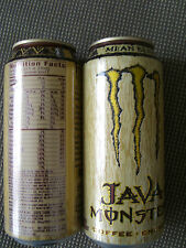 Energy Drink,Monster,Java Mean Bean, USA 15,5 oz *FULL*