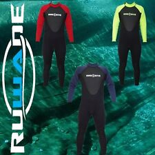 RUWADE 3mm full wetsuits,diving suits,long sleeve long leg dive surfing wetsuit