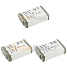 3x Cordless Home Phone Battery for Radio Shack 23-966 43-9004 9015 9016 9018