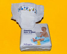 vintage plastic diapers, size 18-40lbs +1 Pampers sz 6 XXL from europe, Unisex