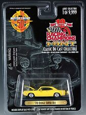 Racing Champions Mint '70 Dodge Super Bee Issue #196 MIP 1999
