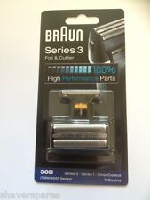 Braun 30B, 7000 / 4000 Series Foil & Cutter Pack