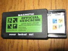Geocache container for Geocaching, Ready to Hide, magnetic key safe