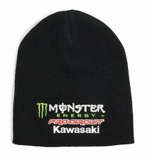 MONSTER Energy Pro Circuit Berretto Con Pompon MX Motocross Enduro MTB Bogie Inverno