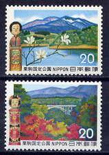 JAPAN Sc#1116-7 1972 Kurikoma Quasi-National Park MNH