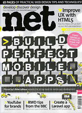 .NET Magazine August 2013 BUILD PERFECT MOBILE APPS Improve UX with HTML5 @NEW
