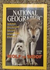 National Geographic 2002 Jan Wolf To Woof, China's Unknown Gobi, World of Islam,