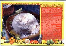 CP Martinique - Gâteau au lait de coco - Recette