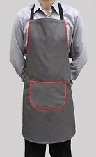 Vente En Gros Job Lot 10 neuf gris Bib tabliers Cafe Travail cater chef