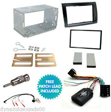 FIAT Bravo 2007  Double Din Car Stereo Fitting Kit, Fascia Stalk Aerial Adaptor