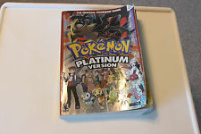 Pokemon Platinum Version Official Strategy Cheat Book Nintendo DS Anime Manga