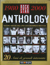 ROCKSTAR ANTHOLOGY Springsteen Madonna Peter Gabriel David Sylvian Boy George