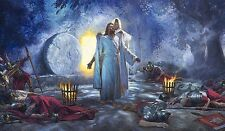 Nathan Greene THE RESURRECTION - Jesus Christ, Easter Sunday 18x24 SMALL Canvas