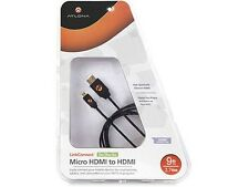 9ft Micro HDMI(D) to HDMI(A) Cable HERO4/GoPro HERO3+ White/Silver/ HERO5 Black