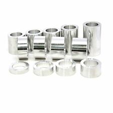 Wheel Axle Spacer Kit 3/4? ID 1 1/8 OD Harley Custom – 13 Spacers Machined