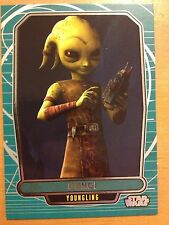 Star Wars 2013 Galactic Files 2 #577 Gungi Youngling Mint