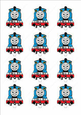 Novelty Thomas The Tank Engine Edible Cake Cupcake Toppers Decorations Birthday