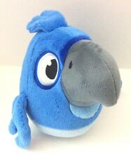 "Angry Birds Rio -  Blue 10"" Bird Plush Stuffed Animal"