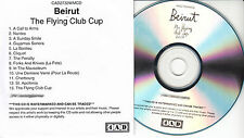 BEIRUT The Flying Club Cup UK 13-tk watermarked promo test CD 4AD CAD 2732WMCD
