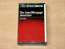 *MINT & SEALED* Sinclair ZX81 / Timex 1000 - Loan/Mortgage Amortizer by Timex