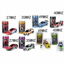 Coke Can Mini Speed RC Radio Remote Control Micro Racing Car Toy Gift New  O#