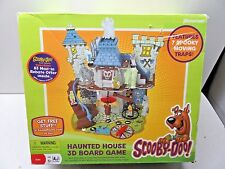 2009 Pressman Scooby-Doo Haunted House 3D Board Game - 99% Complete - L@@K
