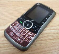 Motorola Clutch i465 - Red (Boost Mobile) Smartphone Bar Cellular Phone *READ*