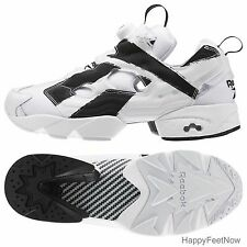 REEBOK FUTURE INSTAPUMP FURY OVERBRANDED MEN'S SHOES SIZE 10 WHITE BLACK AR