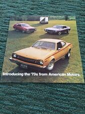 1973 AMC American Motors Dealer Brochure