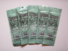 5 Designer Skin TEMPEST Indoor Tanning Lotion Anti-Aging & Firming Packets