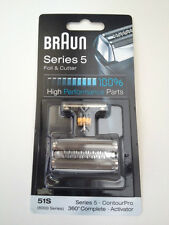 GENUINE BRAUN MENS SHAVER FOIL & CUTTER PACK - 51s 8000/Series 5 *NEW*
