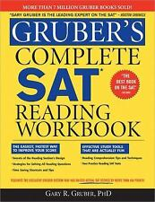 Gruber's Complete SAT Reading Workbook by Gary R. Gruber (2009, Paperback,...