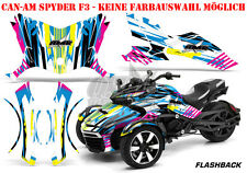 Amr racing decoración Graphic kit ATV can-am spyder RS, RSS, RT, RT-s, f3 flashback B