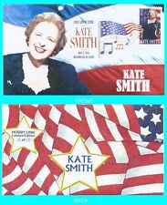 Kate Smith First Day Cover Color Cancel