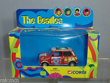 "CORGI TOYS MODEL  No.04440 ""THE BEATLES "" PSYCHEDELIC MINI       MIB"