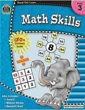 NEW - Ready-Set-Learn: Math Skills Grd 3