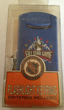 Vintage 1993 NHL All Star Game Official-NIB-FLASHLIGHT KEYRING-NEW IN BOX