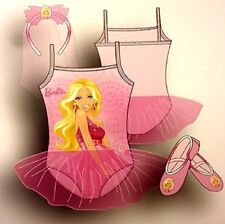 Barbie 'My Bambola'Icouse' Ballet Set di 4 To 6 Anni Costume Bambina