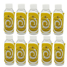 10 Bottles Dental Lemon Flavor Prophylaxis Cleaning Powder for Air Polisher 130g