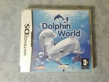 DOLPHIN WORLD NINTENDO NDS DS DSi 3DS 2DS - PAL ITA ITALIANO COMPLETO COME NUOVO