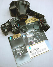 Crossed XXs MINOLTA MAXXUM 7000 Exc-Mint 1985 EXTREME Collection Rare Pieces