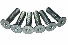 6x 20mm zinc silver steering wheel allen bolts screws will fit OMP MOMO boss kit
