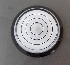 Large Round Bulls Eye Bubble Spirit Level 63mm Clock Turntable Circular Caravan