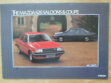 MAZDA 626 SALOONS & COUPE orig 1981 UK Mkt Sales Leaflet Brochure