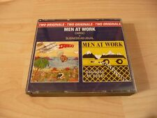 Doppel CD Men at work: Cargo + Business as usual - 80s Kult