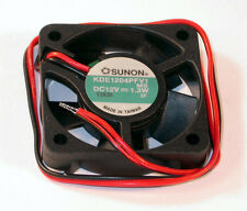 "NEW Sunon 40mm x 10mm Fan 12V DC Vapo Bearing Bare 12"" Leads KDE1204PFV1"