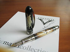 Visconti Mazzi 2005 Greek Myths & Heroes Fountain pen Fine 14ct gold nib MIB
