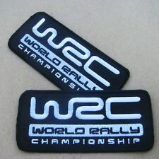 1 x WRC World Rally Championship Iron On Patch Sport Ford Subaru MINI Volkswagen